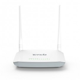 image of Official Tenda D301 Version:2.0 300MBPS ADSL Modem WiFi Router