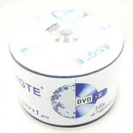 image of Angte DVD+R 4.7GB 120MIn 16X 50Pcs + Free 1Pcs