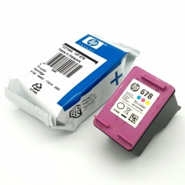 image of Original Hp Cartridges 678 Color CZ108AA Without Packing Box