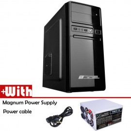 image of Official Alcatroz Futura Black 1000 ATX Casing With Magnum Power Supply