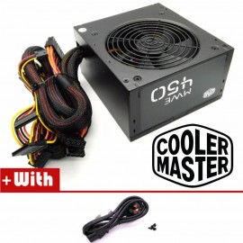 image of Official Cooler Master MWE450 Reliable and Energy Efficient 450Watt Power Supply