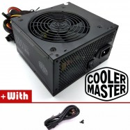image of Official Cooler Master MWE500 Reliable and Energy Efficient 500W Power Supply