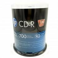 image of Official HP CD-R Disc 100Pcs Cake Box (52x 700Mb,80MIn)
