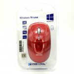 Zee-Cool Zc-15 Elegant Design For Comfort Use 2.4Ghz Wireless Optical Mouse