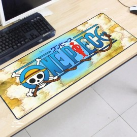 image of One Piece OP78 80 x 30 x 0.2cm Gaming Mat Non-slip Anti Fray Stitching Mouse Pad