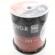 image of Official HP DVD-R 4.7Gb 120Min 1~16X 100pcs Pack With Box