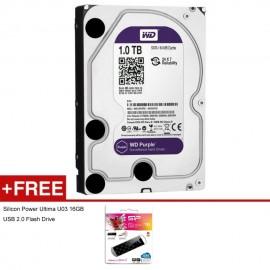 image of Official 1TB Western Digital Surveillance 3.5 Sata Hard disk For CCTV