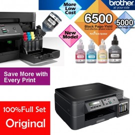 image of Official Brother DCP-T310 Refill Tank System 3-in-One, Ultra High Yield Ink