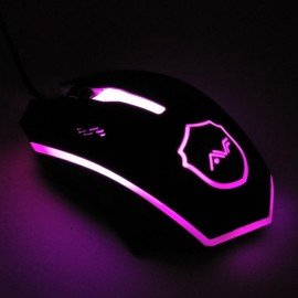 image of Official AVF Gaming Gears RAPID 3 Optical Gaming Mouse with Colourful Backlight