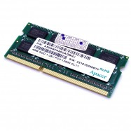 image of APACER 4GB DDR3L 1600MHz SODIMM RAM FOR NOTEBOOK LOW VOLTAGE (T11-6)