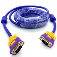 image of 5M High Quality VGA Cable (3+9) Support resolutions up to 1920 x 1200