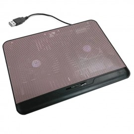 image of Tinytech NB-c021 High Quality Notebook Cooler Pad (Pink)