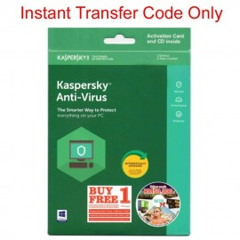 image of Kaspersky Anti Virus 2018 For 2 PC/1Device.1Year Instant Transfer Code Only