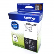 image of Official Brother LC-539XL Black Ink Cartridge For DCP-J100 / DCP-J105 / MFC-J200
