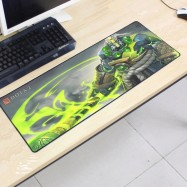 image of Dota2 DT59 80 x 30 x 0.2cm Gaming Mat Non-slip Anti Fray Stitching Mouse Pad