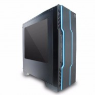 image of AVF Gaming Freak Dark Wiccan Tower Casing with Side Window (USB3.0)