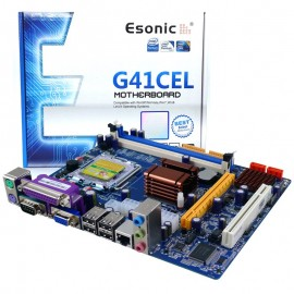 image of Esonic /Zillion Intel G41 Ccmbo Socket 775 Motherboard Support DDR2/DDR3 Ram