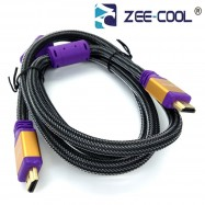 image of Official 1.5M Zee-Cool 100% 4K 3D High Speed Full HD HDMI Cable