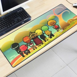 image of One Piece OP25 80 x 30 x 0.2cm Gaming Mat Non-slip Anti Fray Stitching Mouse Pad