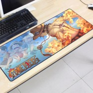 image of One Piece OP12 -6-1 Gaming Mat Non-slip Anti Fray Stitching Mouse Pad