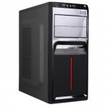 AVF Classique Series ACCS560-BR (Red) ATX Casing with 500W Power Supply