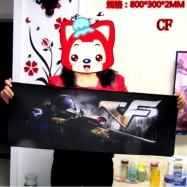 image of A07 80 x 30 x 0.2cm Gaming Mat Non-slip Anti Fray Stitching Mouse Pad