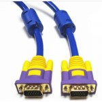 3M High Quality VGA Cable (3+9) Support resolutions up to 1920 x 1200