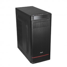 image of AVF ACSD573-BR Shieldo Black Series ATX Casing with 500W Power Supply