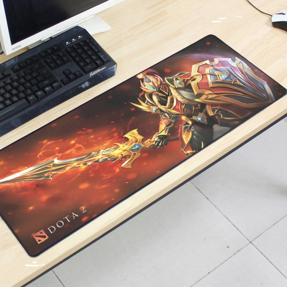 Dota2 DT56 80 x 30 x 0.2cm Gaming Mat Non-slip Anti Fray Stitching Mouse Pad