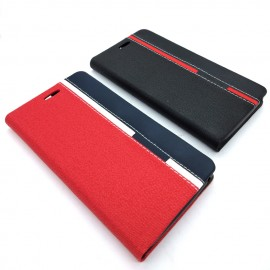 image of Wiko Lenny 2 Leather Flip Cover Case