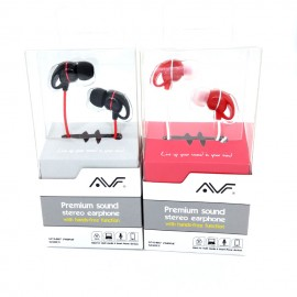 image of Official Avf EPS5 Stereo Earphone with hands-free function