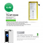 Official Pisen Smart Phone Battery For Samsung Galaxy A8 (F2-2-7)