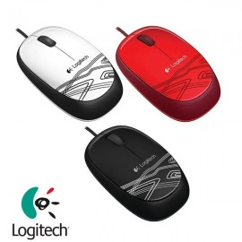 image of Official Logitech M105 Usb Corded Optical Mouse, ambidextrous comfort