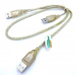 2.0 Usb Y Cable 2+1 USB Male standard To External Hard Drives