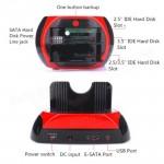 USB2.0 2.5 /3.5 SATA/IDE HDD Docking Station with USB Hub Card Reader (Z5-2)