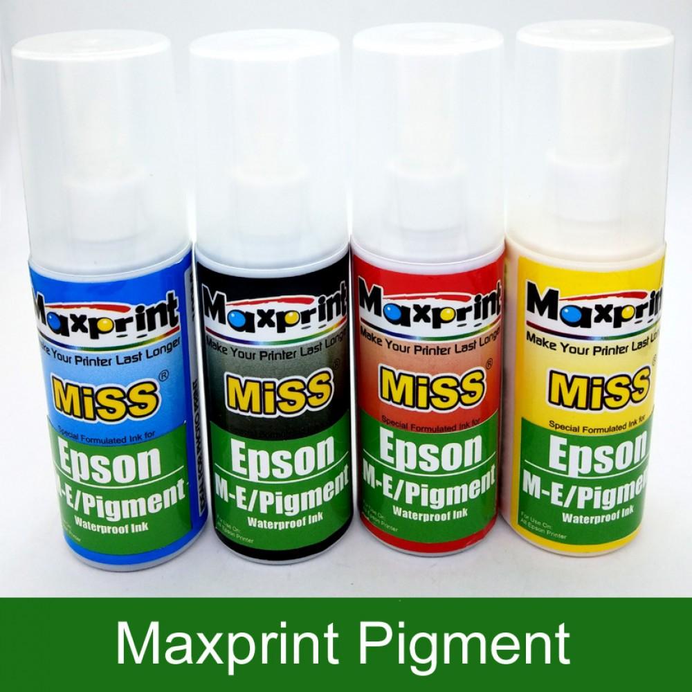Official Maxprit Epson M-E Pigment Refill Ink 100ML