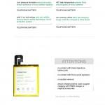 Official Pisen Smart Phone Battery For ViVO Xplay3S (F2-2-14)