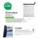 Official Pisen Smart Phone Battery For Oppo A33  (F2-2-21)
