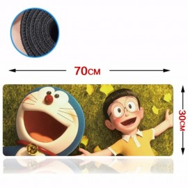 image of Doreamon 70 x 30 x 0.2cm Gaming Mat Non-slip Anti Fray Stitching Mouse Pad