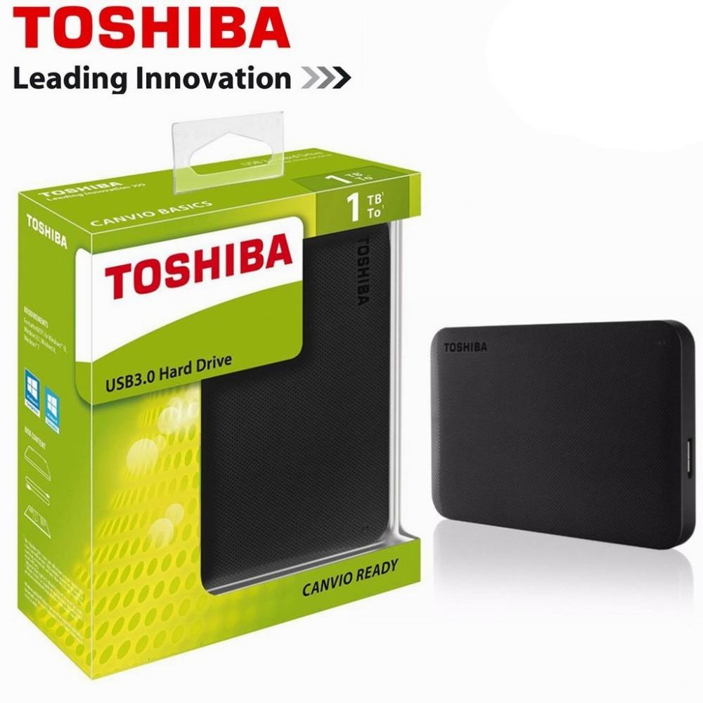 Toshiba Canvio Ready 1TB / 2TB Portable USB 3.0 External Hard Disk Drive