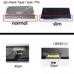 "14"" Slim 40 Pin Led Screen N140BGE-L43 For Laptop Acer/Toshiba/Asus /Msi /Lenovo"
