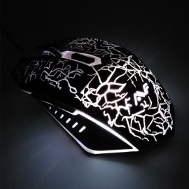 image of Official AVF Gaming Gears ZOOM 1 Optical Gaming Mouse with Colourful Backlight