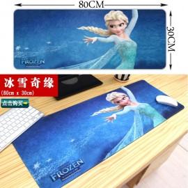 image of 80 x 30 x 0.2cm B03 Gaming Mat Non-slip Anti Fray Stitching Beautiful Mouse Pad