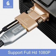 image of Hagibis VGA Output To Hdmi Input Adapter Converter For PC Desktop/Laptop