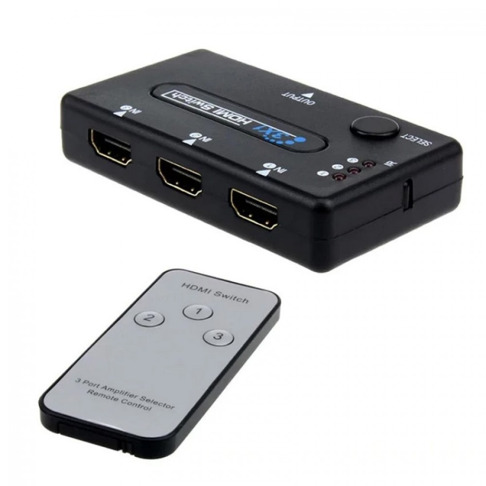 HDMI 1.4 Switch 1080P 3 input and 1 output