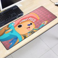 image of One Piece OP54 80 x 30 x 0.2cm Gaming Mat Non-slip Anti Fray Stitching Mouse Pad