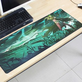 image of Dota2 DT129 80 x 30 x 0.2cm Gaming Mat Non-slip Anti Fray Stitching Mouse Pad