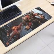 image of Dota2 DT71 80 x 30 x 0.2cm Gaming Mat Non-slip Anti Fray Stitching Mouse Pad