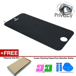 image of Apple iPhone 5 / 5s  Anti-Spy Privacy Tempered Glass Screen Protector