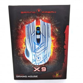 image of Official AVF AGM X9 Gaming Freak II 6D Laser USB Mouse 3000DPI